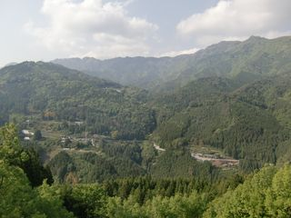 大川村の景色